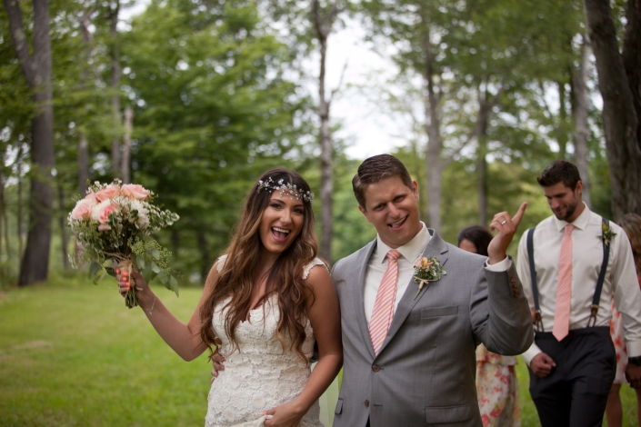 We are clearly pretty pumped to be married!