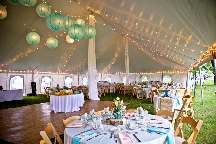 under our BEAUTIFUL tent..just love how it all came together!